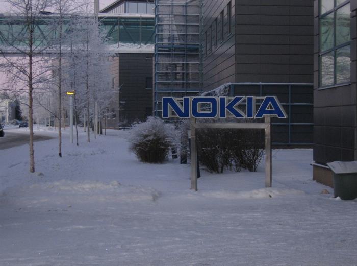핀란드의 한 노키아빌딩 입구.(출처 플릭커)