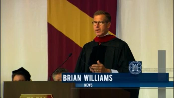 NBC 나이틀리뉴스 앵커 브라이언 월리암스