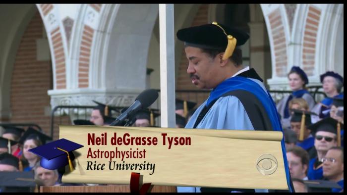 천체 물리학자이자 저명한 과학칼럼니스트인 닐 디그래스 타이슨.