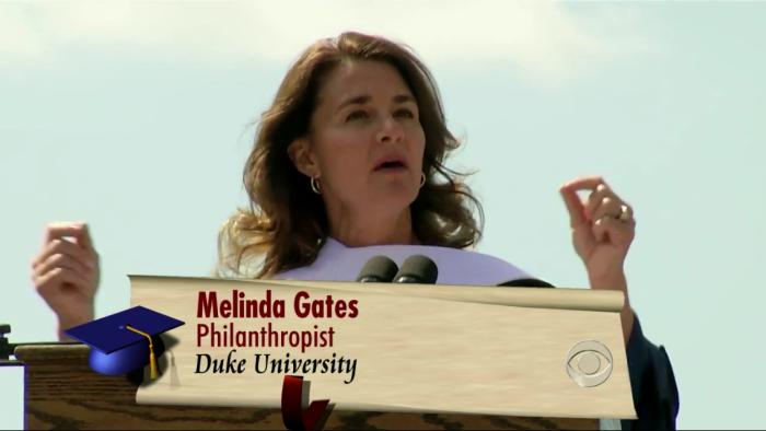 빌 게이츠의 부인. 멜린다 게이츠.