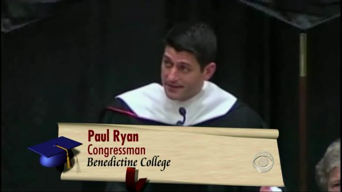지난해 공화당의 부통령후보로 나왔던 폴 라이언.