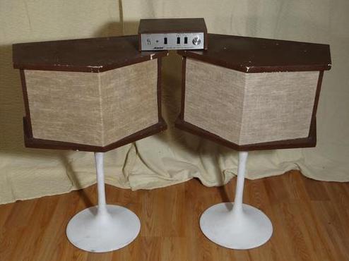 Bose 901 스피커시스템(출처:ebay사진)