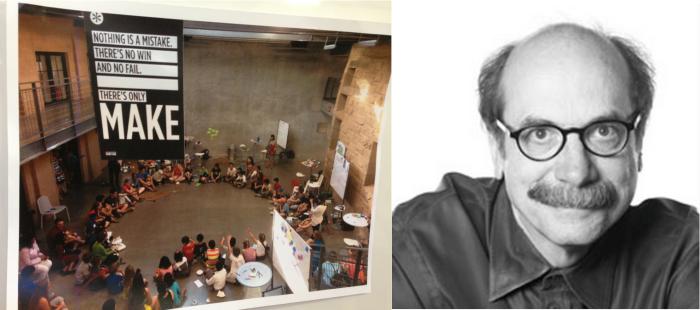 D스쿨과 데이빗 켈리(사진출처 스탠포드대와 IDEO홈페이지)