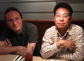 당시 가끔 점심을 같이 했던 오퍼레이션 매니저 조 프라노비치와.