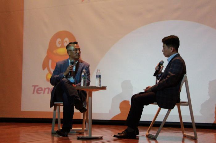 실리콘밸리의 한국인 컨퍼런스에서 이야기하는 트랜스링크 음재훈대표.